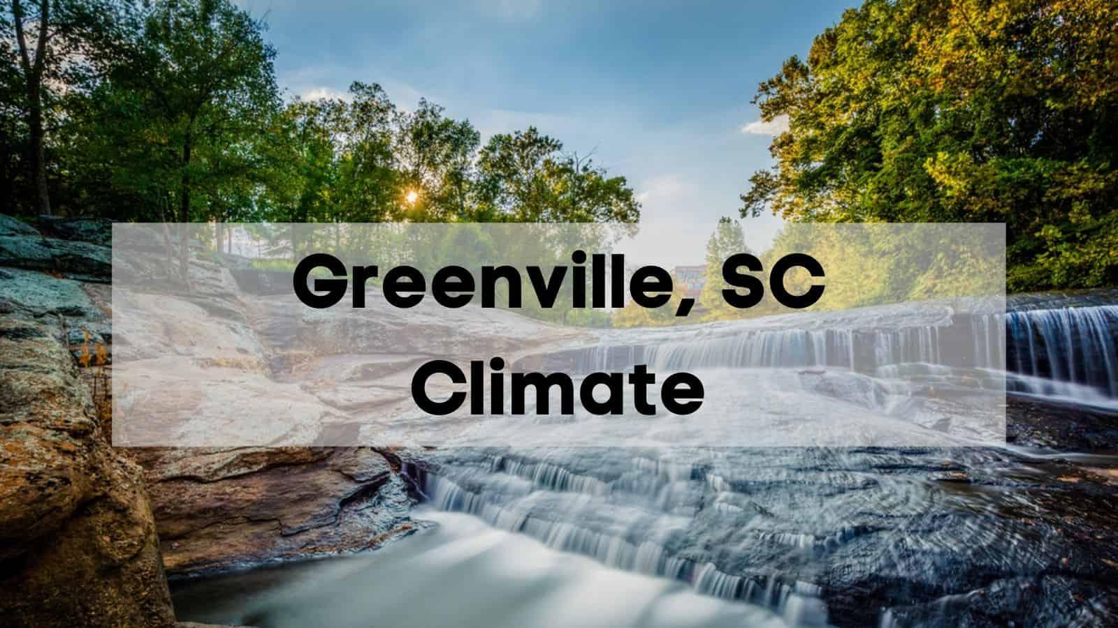 greenville, sc climate
