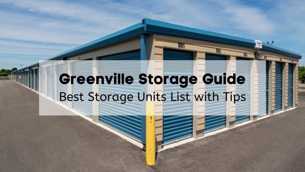 Greenville Storage Guide